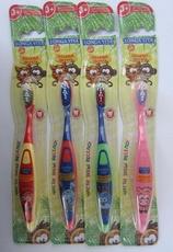 "Детская зубная щетка Longa Vita ""Забавные зверята"" асс."