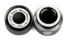 Гель-краска для литья черная Studio Line 5мл Black Pearl