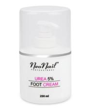 Крем для ног NeoNail 250мл с мочевиной 5%