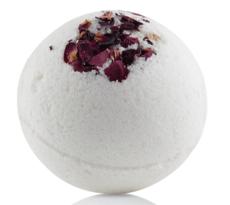 Бурлящий шарик для ванны РОЗА, 185 гр