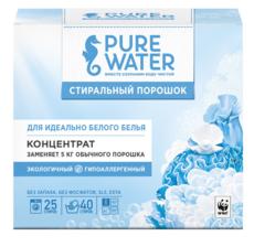 Стиральный порошок для белого белья ТМ Pure Water, 800 гр