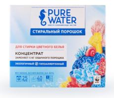 Стиральный порошок для цветного белья ТМ Pure Water, 800 гр