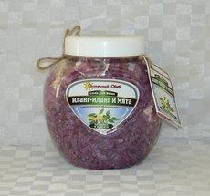 Соль с ракушками с эфирным маслом иланг-иланга и мяты, 1320 гр
