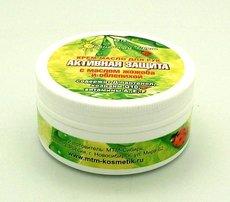 Крем-масло для рук Активная Защита с маслом жожоба и облепихой, 83 гр
