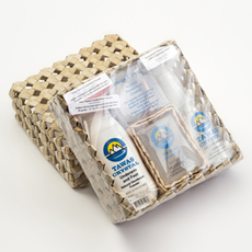Кристалл Свежести Подарочный набор в коробке из пальмы Пандан, 6 наименваний