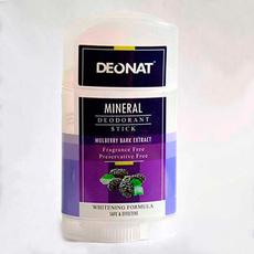 Дезодорант-Кристалл  с экстрактами коры тутовника (белой шелковицы), семян огурца, цветов гибискуса, стик плоский , вывинчивающийся (twist-up), 100 гр.