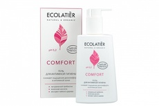ECOLATIER  Гель д/интимной гигиены COMFORT с молочной кислотой и пробиотиком, 250 мл
