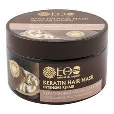 Маска для волос КЕРАТИНОВАЯ интенсивное восстановление 250 мл ТМ EcoLab СТРАНЫ