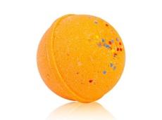 Гейзер (макси-шар) ОРАНЖЕТТО для ванн,с морской солью и маслами,d 9см,280±15гр.TMChocoLatte