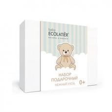 ECOLATIER Набор подарочный PURE BABY 0+ (шампунь 2 в 1 детский 150мл, крем детский 75мл)