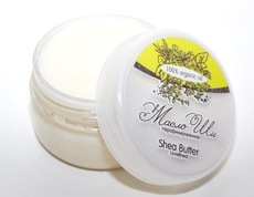 Масло ШИ/ Shea Butter Unrefined/ баттер, нерафинированное/ 80 гр