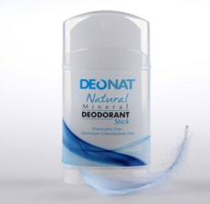Дезодорант-Кристалл чистый, стик плоский, вывинчивающийся (twist-up) , 100 гр.