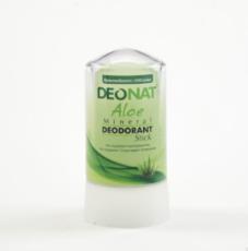 Дезодорант-Кристалл с соком АЛОЭ, стик зеленый, 60 гр.