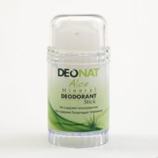 Дезодорант-Кристалл с натуральным  экстрактом АЛОЭ и глицерином,  стик вывинчивающийся (twist-up), 80 гр.