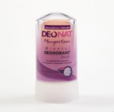 Дезодорант-Кристалл с соком МАНГОСТИНА, розовый стик , 60 гр.