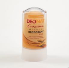 Дезодорант-Кристалл с КУРКУМОЙ  , желтый стик , 60 гр.