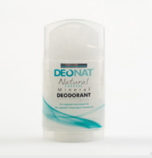 Дезодорант-Кристалл , стик цельный, плоский, вывинчивающийся  (twist-up) , 100 гр.