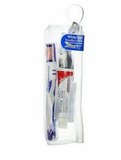 Дорожный набор White Glo зубная паста 24мл + зубная щетка+зубочистки