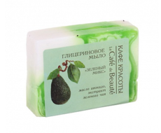 """Глицериновое мыло """"Зеленый микс"""" 100 гр"""