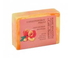 """Глицериновое мыло """"Персиковый фромаж"""" 100 гр"""