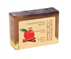 """Глицериновое мыло """"Яблочный пай"""" 100 гр"""