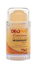 Дезодорант-Кристалл с КУРКУМОЙ  , желтый стик , вывинчивающийся (twist-up), 80 гр.