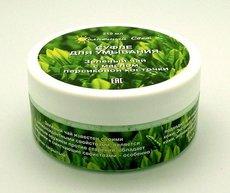 Суфле для умывания Зеленый чай с маслом персиковой косточки. 210 мл