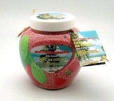 """Жемчужины для ванн """"Секс на пляже"""" с маслом виноградной косточки и экстрактом календулы. 800 гр"""