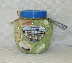 Соль с ракушками Мелисса + ромашка (Anti-Stress). 1320 гр