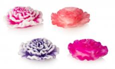 Мыло ручной работы/цветок 3D ГВОЗДИКА. 65 гр