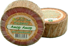 """Пудинг с глиной """"Амор Амор"""" для умывания (мыло. 90 гр)"""