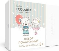 ECOLATIER  Набор подарочный PURE BABY 3+ (шампунь 2 в 1 детский 150мл, крем детский 75мл)