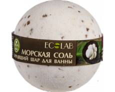 """Бурлящий шар для ванны """"Мангостин и Ваниль"""" 220 гр ТМ EcoLab"""