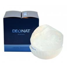 Дезодорант-Кристалл . цельный. округлой формы. на подставке  в подарочной коробке. 140 гр.