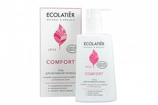 ECOLATIER  Гель д/интимной гигиены COMFORT с молочной кислотой и пробиотиком. 250 мл