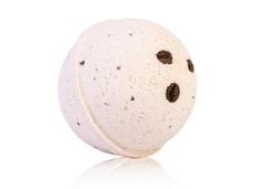 Гейзер (макси-шар) КОФЕЙНЫЙ ДЕСЕРТ для ванн.с морской солью и маслами.d 9см.280±15гр.