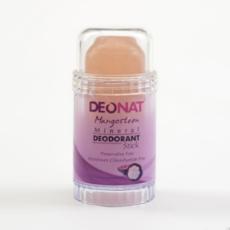 Дезодорант-Кристалл с соком МАНГОСТИНА. розовый стик. вывинчивающийся. 80 гр.