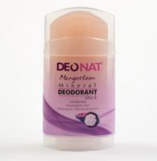 Дезодорант-Кристалл с соком МАНГОСТИНА, розовый стик, вывинчивающийся (twist-up), 100 гр.