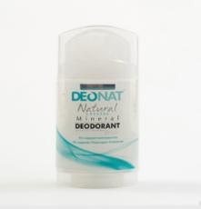 Дезодорант-Кристалл . стик цельный. плоский. вывинчивающийся  (twist-up) . 100 гр.