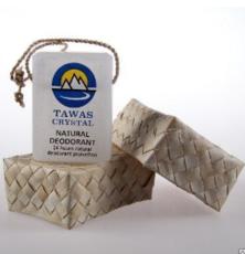 Кристалл  в брусках сглицерином на шнурке из пальмы Абака.  125 гр.